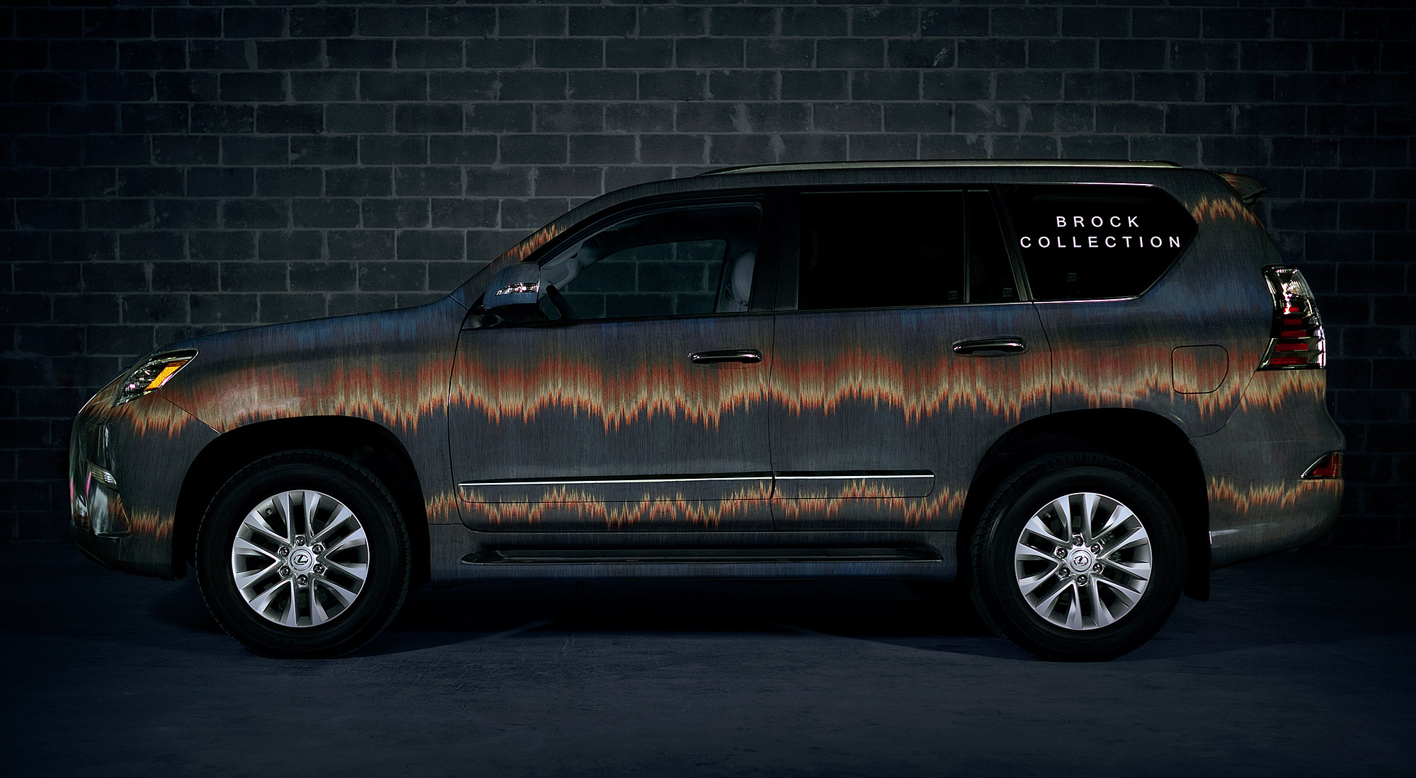 Designer patterned Lexus vehicles to ferry VIP s for New York