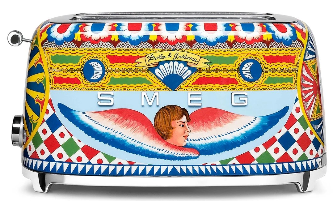 Smeg Collaborates With Dolce And Gabbana For Designer Kitchen Appliances