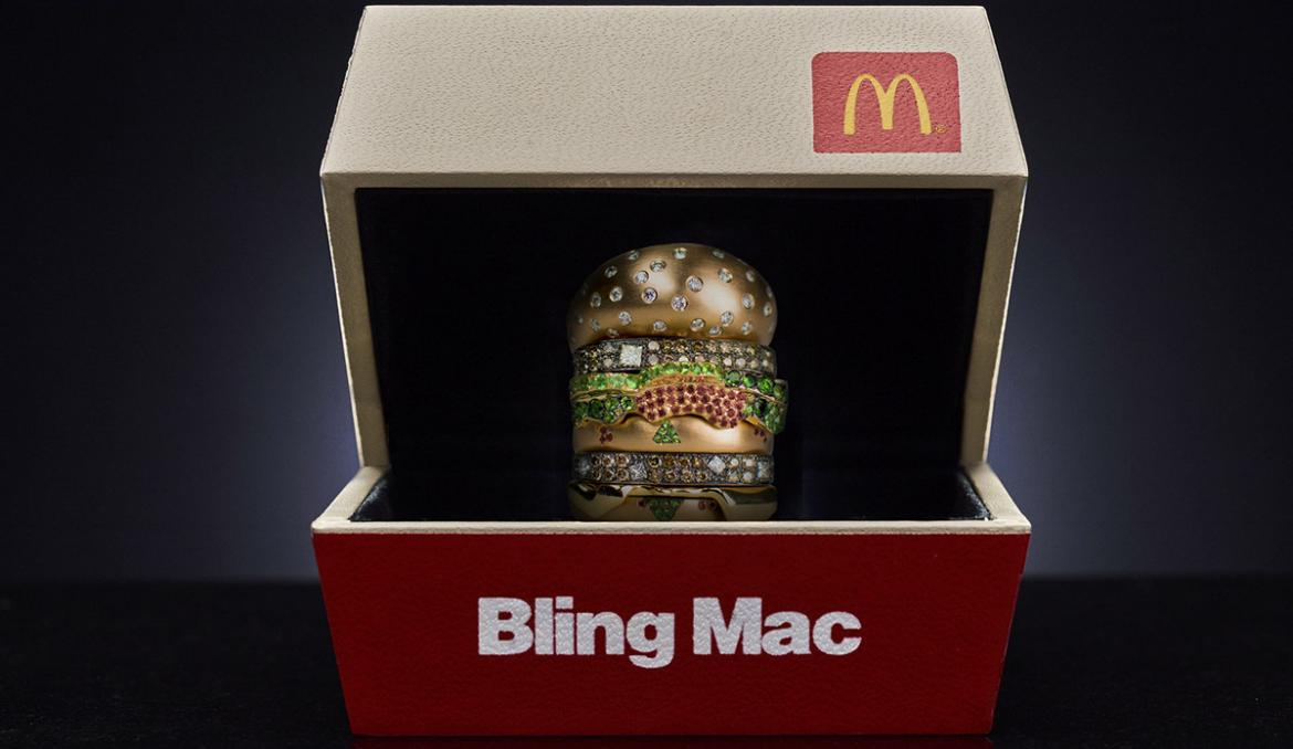 McDonalds USA Is Giving Away A Diamond Studded Big Mac