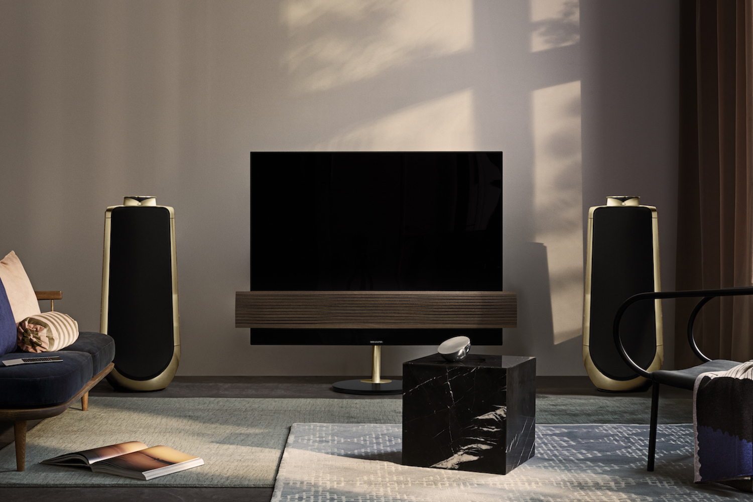 Bang Amp Olufsens Stunning OLED TV And Speaker Get A New