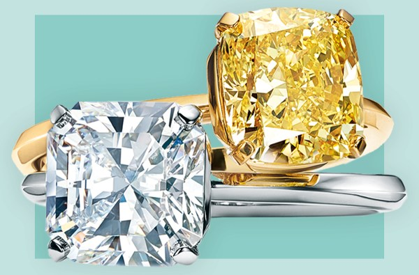 Tiffany & Co. debut their first new engagement ring style ...