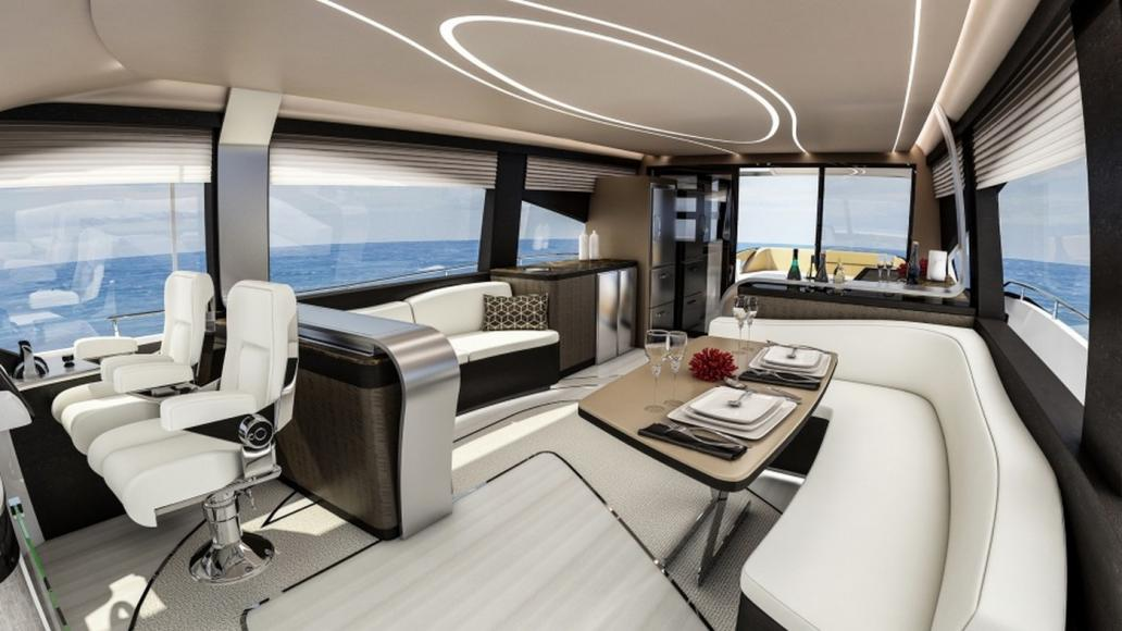 Lexus Has Unveiled Its First Luxury Yacht Its 65 Foot