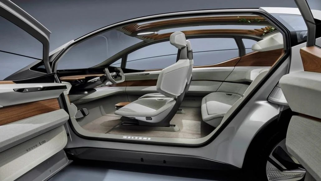 Audi Envisions The City Car Of The Future Its All Electric