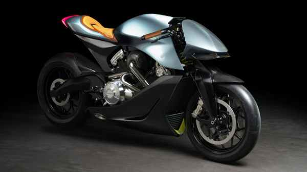 Aston Martin has unveiled it's first motorbike - It's not ...