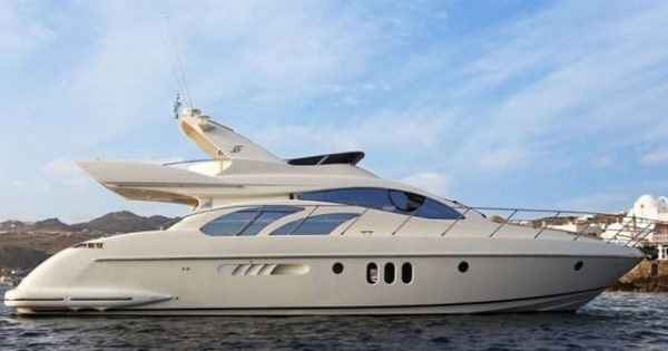 Marina Del Rey Yacht Rental 60 Azimut LUXURY LINERS