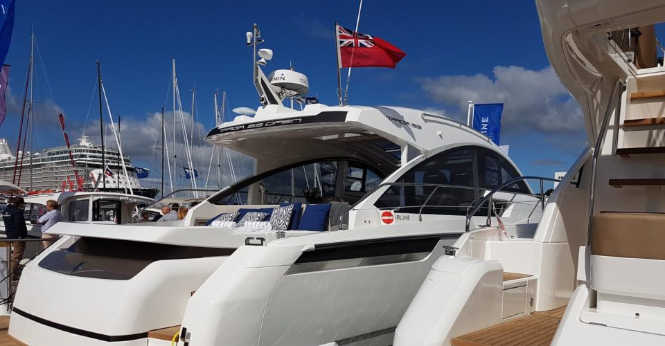 I Was There For The World Launch Of The Fairline Targa 53 GTO