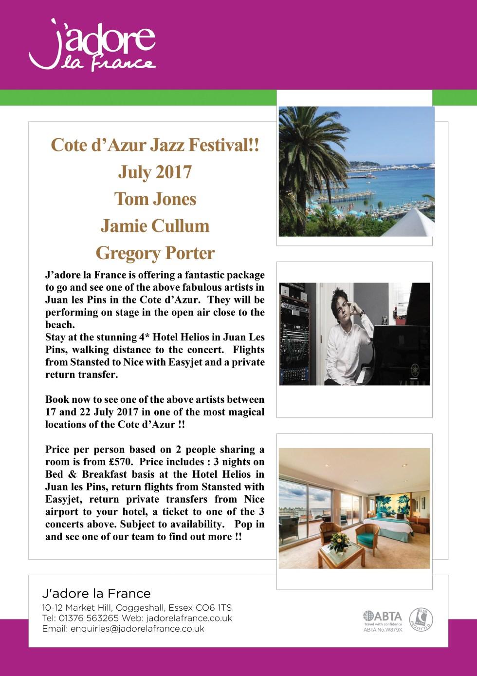 Jazz Festival Cote d'Azur