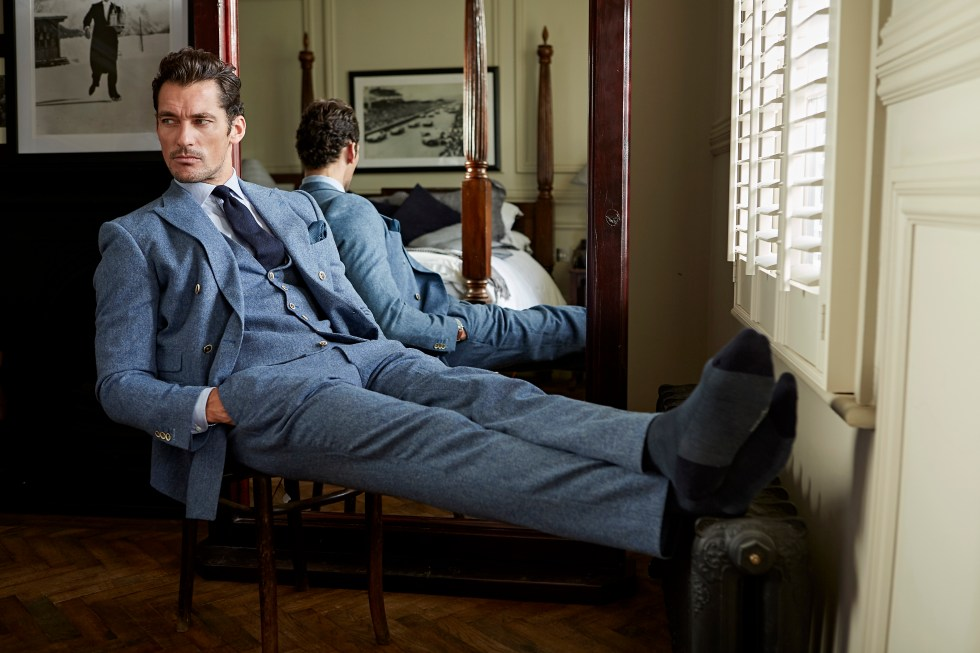 Supermodel David Gandy Wears It Well