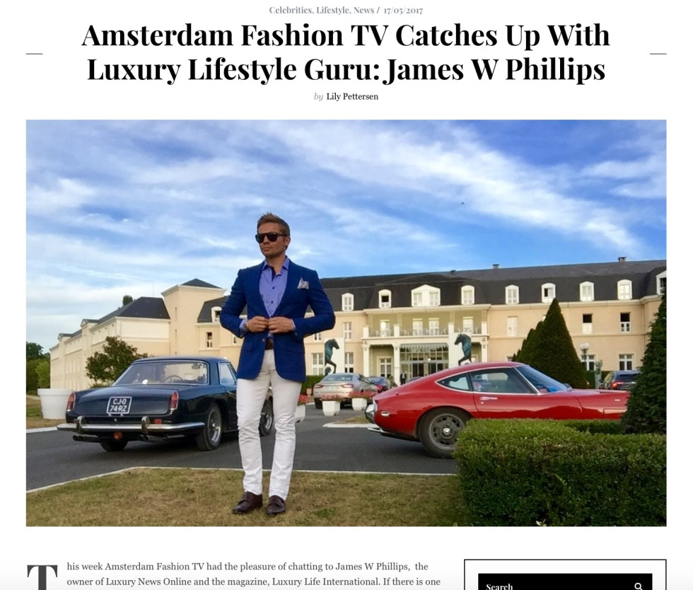 Amsterdam Fashion TV Interview