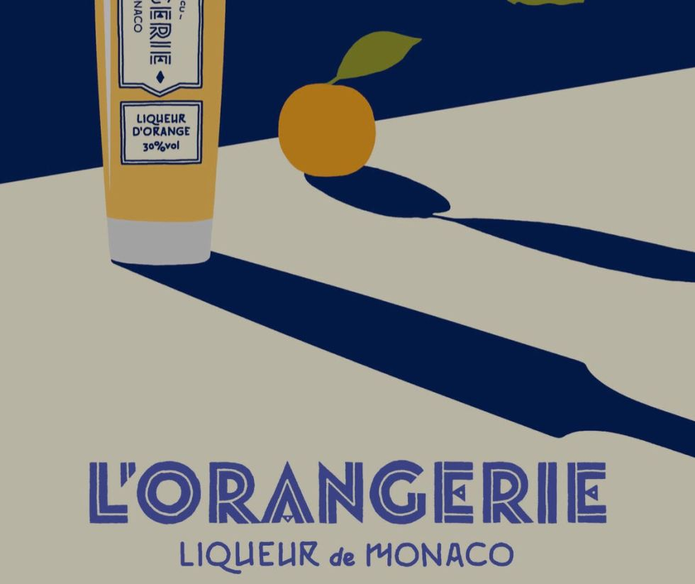MONTE CARLO Exclusive Degustation The Carruba Liqueur L'Orangerie De Monaco
