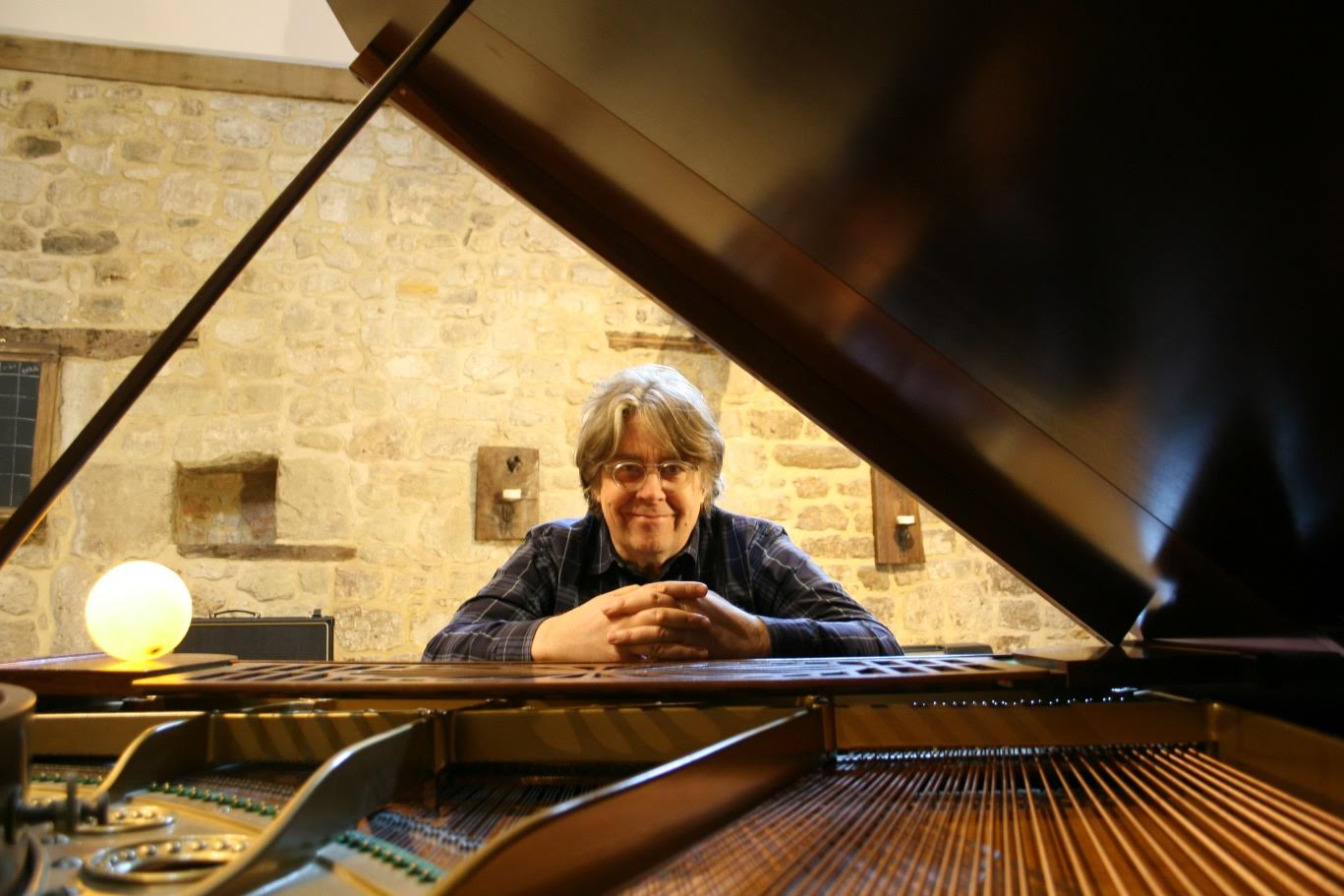 man at a piano