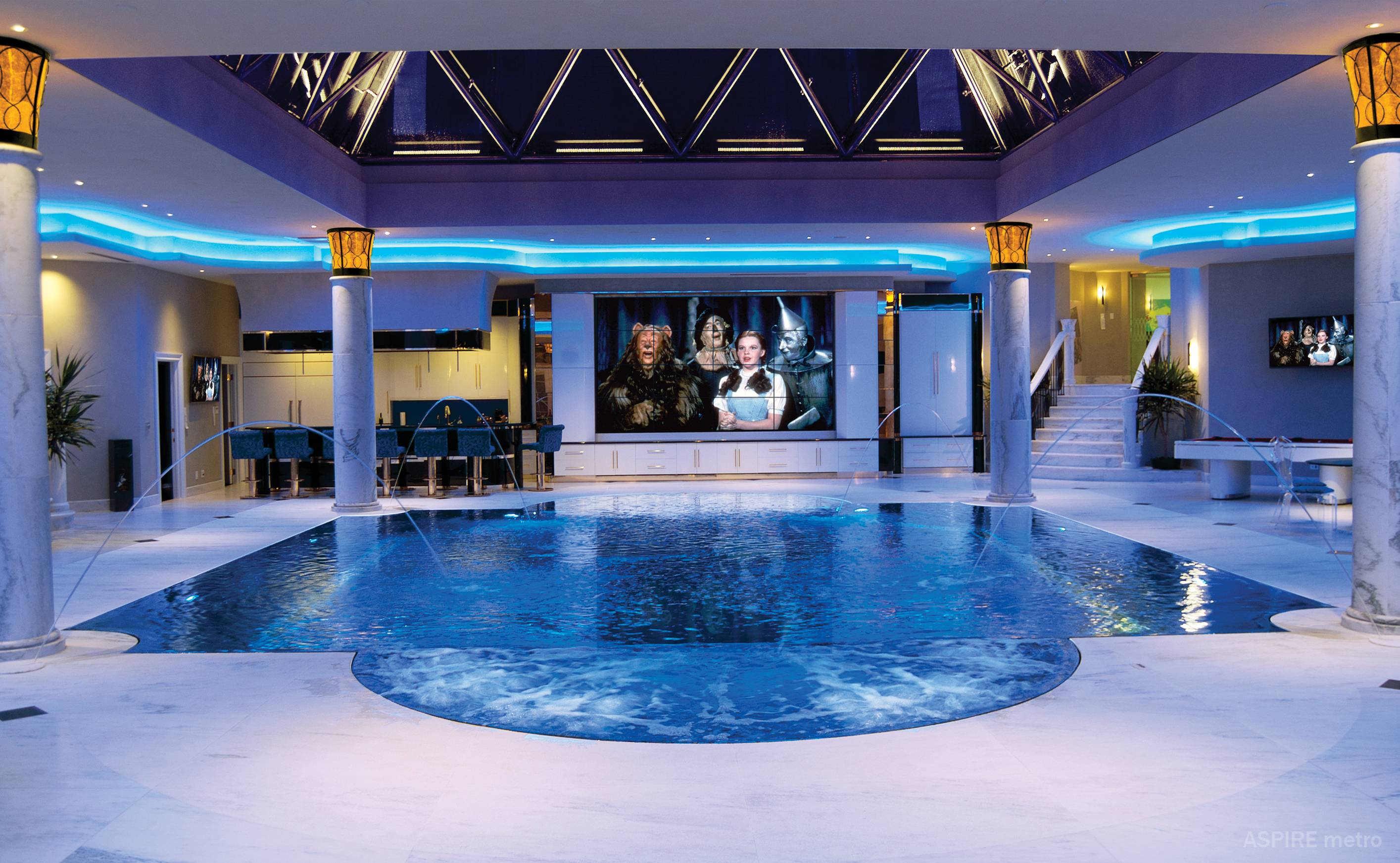 8 Cozy And Cool Indoor Pool Rooms