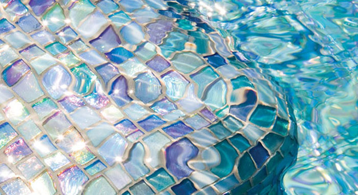 glass tile pool finishes benefits