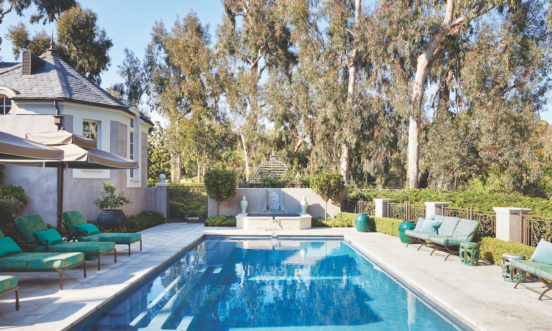 Dream Backyard Design at a Los Angeles Estate - Luxury ... on Dream Backyard With Pool id=76137