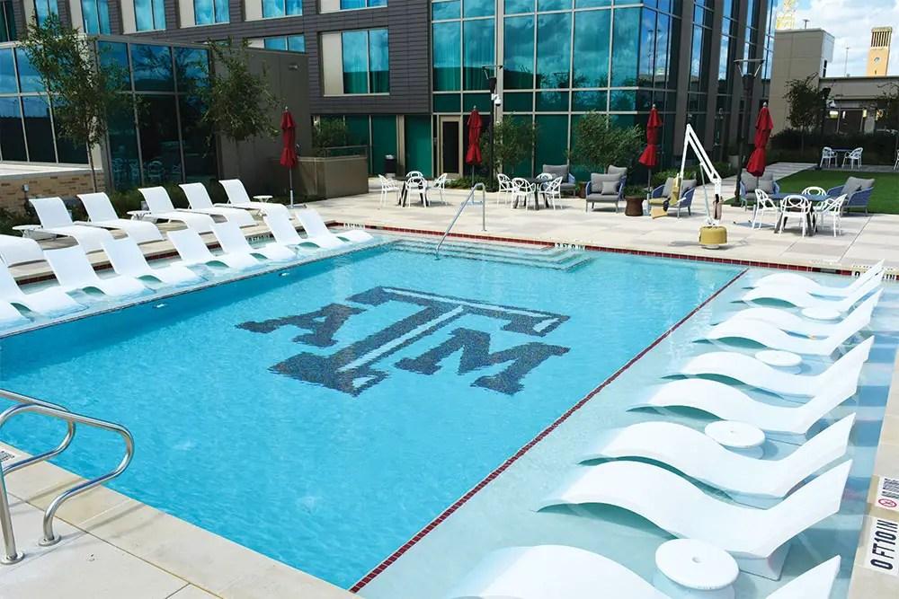 custom tile designs luxury pools