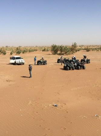 Désert grand sud marocain