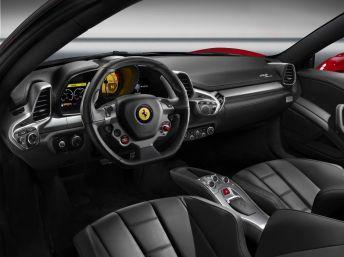 Ferrari-458-Spider-Interior