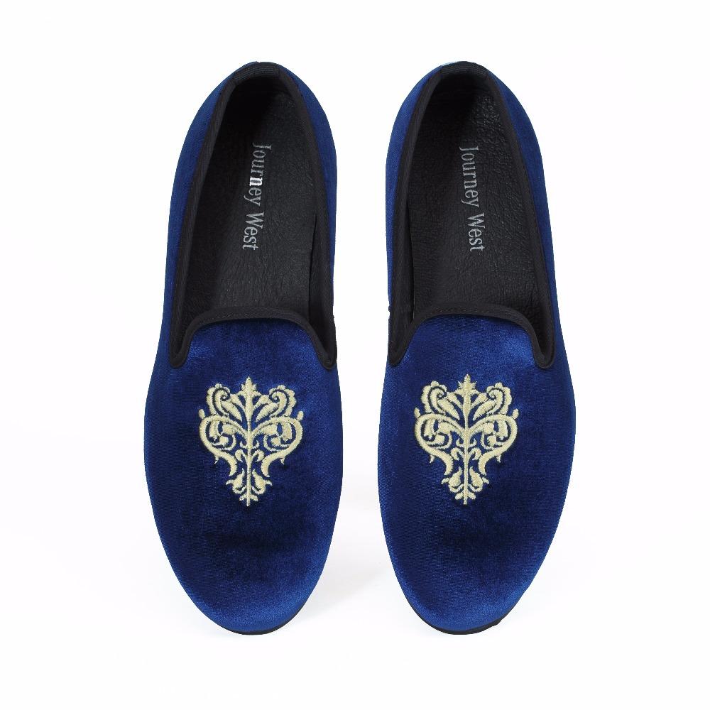 New Handmade Mens Velvet Slippers Loafers Slip on Casual Flats Dress Shoes Sizes