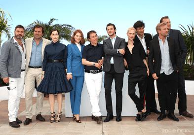 Equipe du film/Film cast - 17/05 | SAINT LAURENT