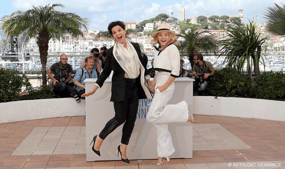 Juliette Binoche & Chloë Grace Moretz - 23/05   SILS MARIA