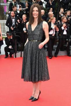 Chiara Mastroianni wearing Dior.