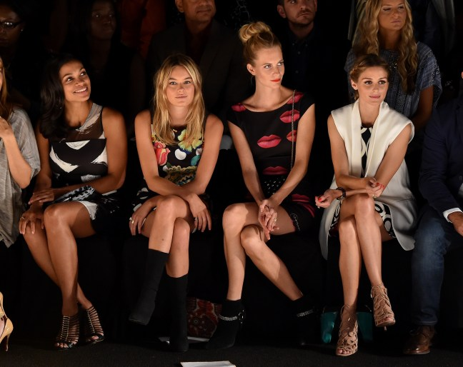 Desigual - Front Row - Mercedes-Benz Fashion Week Spring 2015