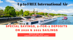 Up to FREE Air and Special Savings