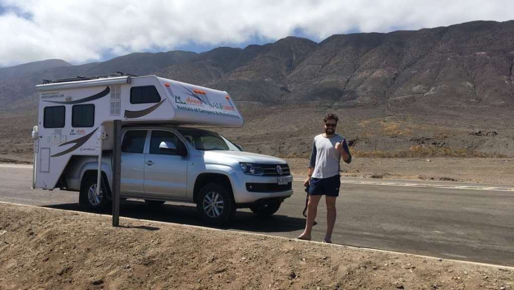 VW Amarok 4x4, Campervan Chile - The Traveller's Guide By #ljojlo