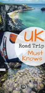 UK Road Trip Must Knows - The Traveller's Guide By #ljojlo