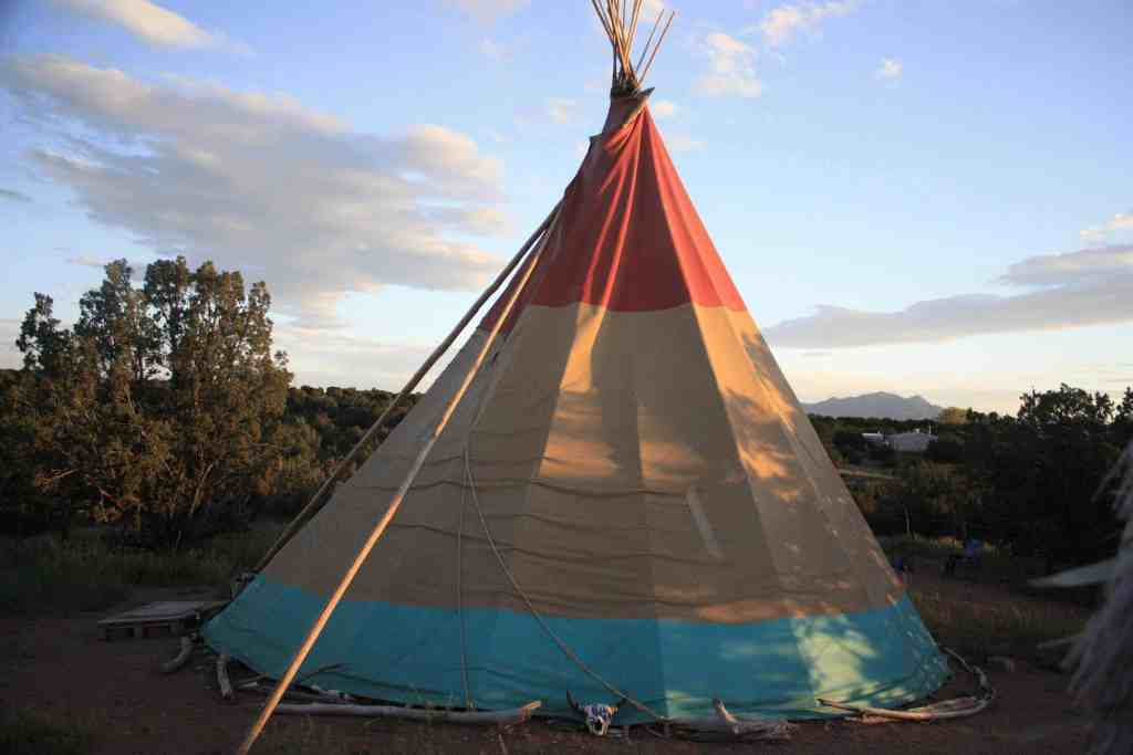 Airbnb Tipi Tent - Santa Fe - Luxury Travel Hacks