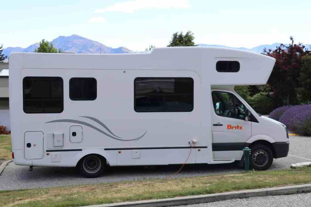 Britz Frontier - Britz Campervan - Campervan Hire New Zealand - Luxury Travel Hacks