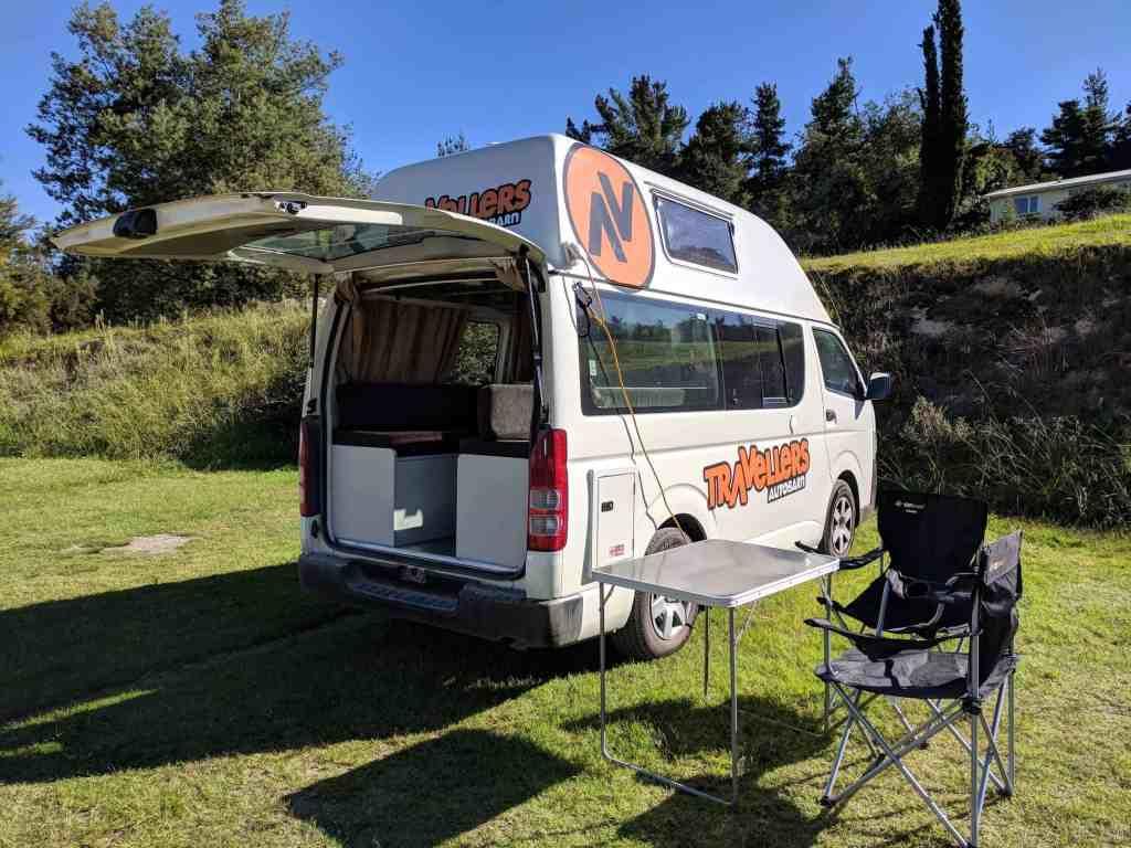 Kuga Campervan - Campervan Hire New Zealand - Luxury Travel Hacks