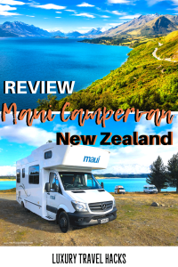 Review of a Maui Campervan New Zealand - Luxury Travel Hacks