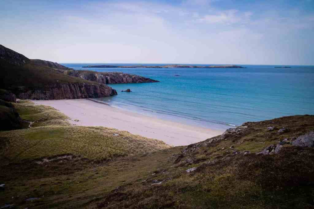 Beach near Durness - The North Coast 500 Scotland Best European Road Trips - Luxury Travel Hacks