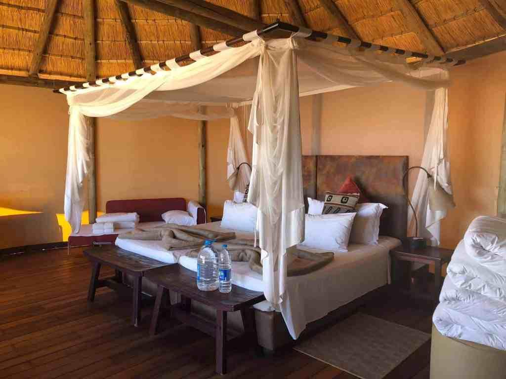 Room at Sossus Dune Lodge - Namibia - Romantic Hideaways Africa - Luxury Travel Hacks