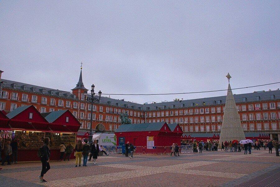 Plaza Mayor - Layover in Madrid - Luxury Travel Hacks