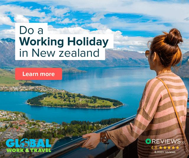 Working Holiday New Zealand - Working Abroad New Zealand - Luxury Travel Hacks