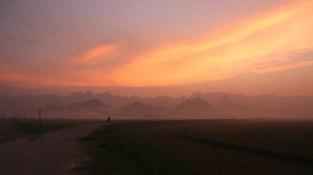 Ninh Binh Sunset Vietnam