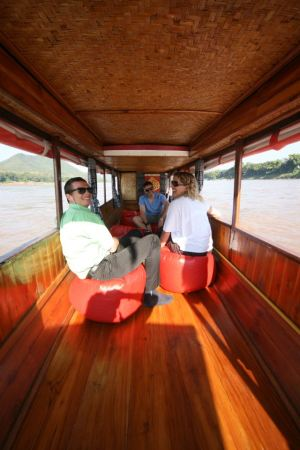 private boat luang prabang