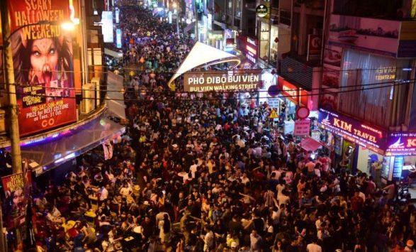 Bui Vien Street, Ho Chi Minh City - BEST PLACES TO SPEND CHRISTMAS IN VIETNAM