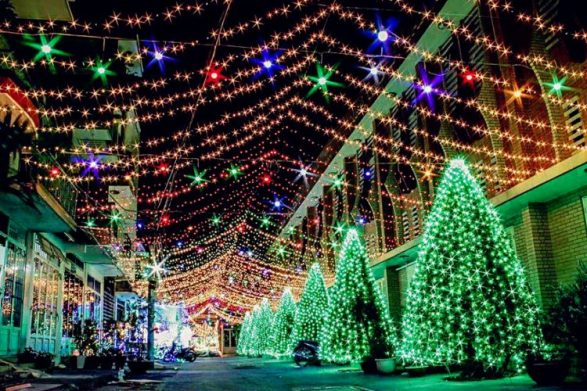 Thanh Cong Street, Tan Phu District, Saigon - BEST PLACES TO SPEND CHRISTMAS IN VIETNAM