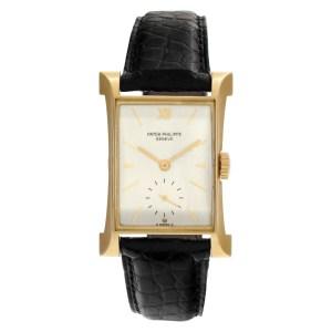 Patek Philippe Pagoda 2441 18k Silver dial mm Manual watch