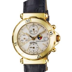 FRANCHI MENOTTI Chronograph michaelis 18k 37mm auto watch