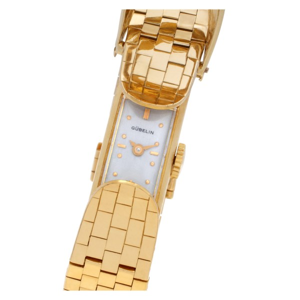 Gubelin Cocktail na 18k Silver dial mm Manual watch