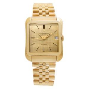 Vacheron Constantin Cioccolatone 6440 Q 18k Yellow Gold 35mm Automatic watch