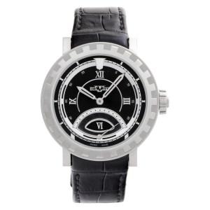 DeWitt Acadamia Retrograde 1102.48 18k White Gold Black Automatic Watch