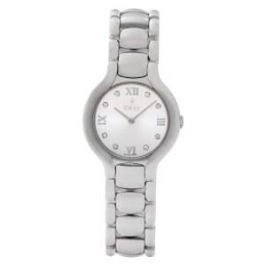 Ebel Beluga E9157421 Stainless Steel Silver dial 27mm Quartz watch