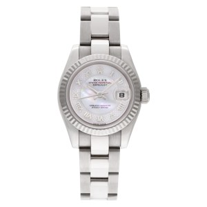 Rolex Datejust 179179 18k White Gold Mother of Pearl dial 26mm Automatic watch