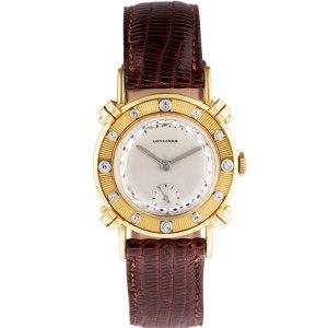 Longines Classic xxx 14k Silver dial 29mm Manual watch