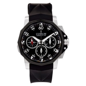 Corum Admirals Cup 01.0075/986.581.98/F371 Stainless Steel Black dial 44mm Autom